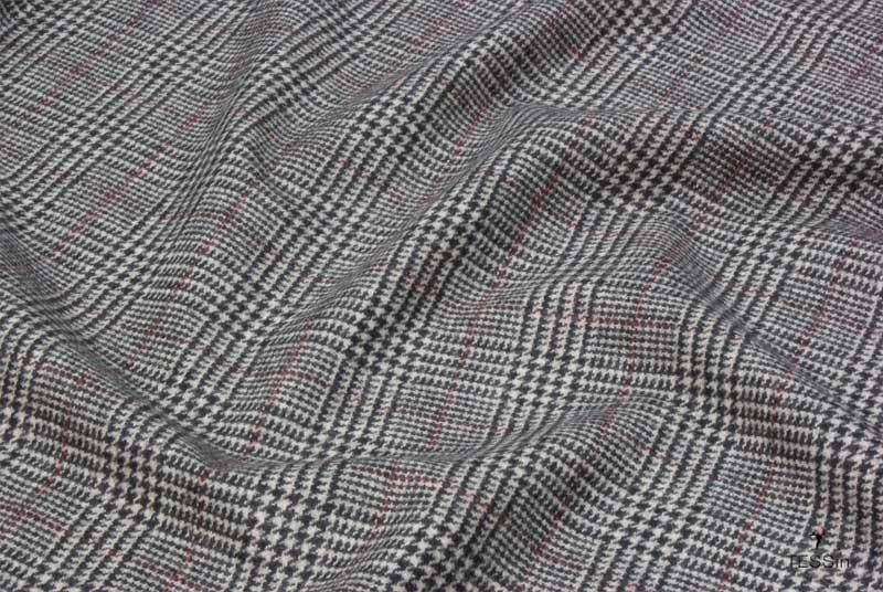 principe di galles donna: il dettaglio diun tessuto in principe di galles